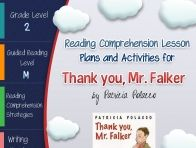thank you mr falker writing activities