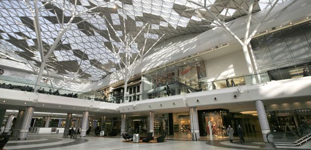 Westfield London - there is almost no other reason going shopping anywhere else when you have all the shops you need under one roof. Escape the crowd and go here in the early or late opening hours during weekdays.