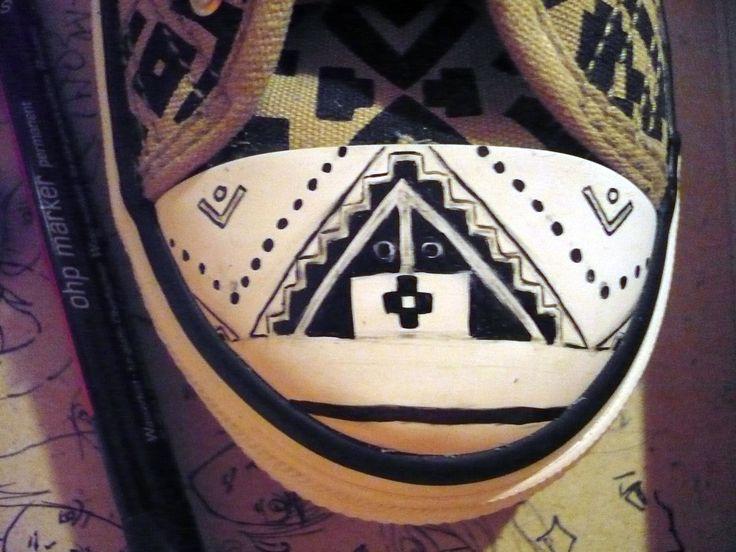 Aztec patten making by me