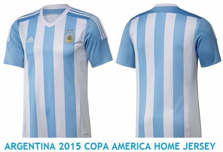 Argentina 2015 Copa America Home jersey