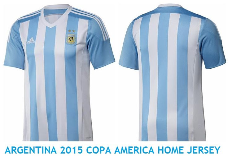 ARGENTINA 2015 COPA AMERICA HOME JERSEY