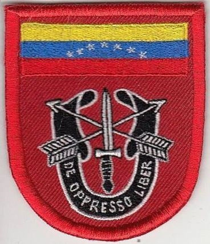 Green Beret US Army Venezuela 7th Special Forces Group ABN Fort Gulick CZ Panama
