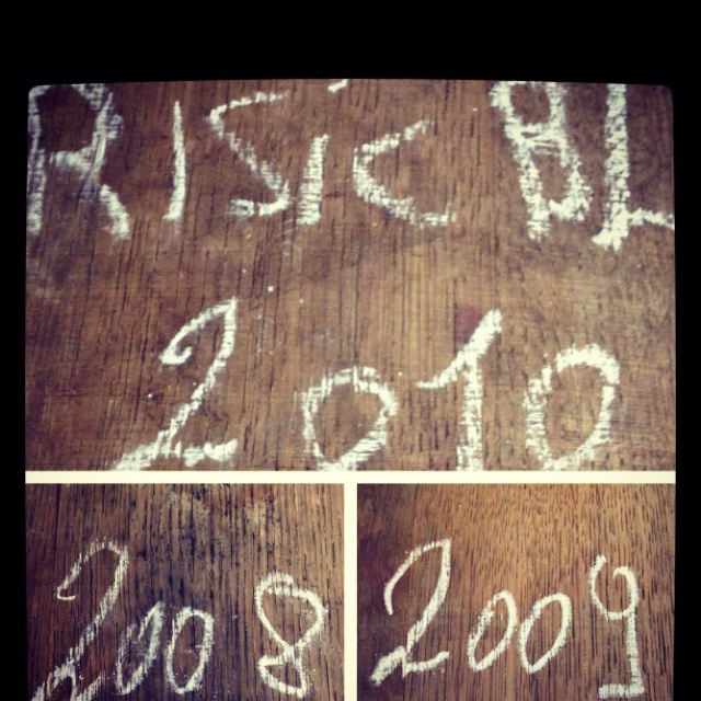 Risic blanc 2010 sauvignon chardonnay solera method. #wine #organic #bio #vino
