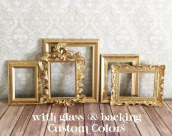 best 25 gold picture frames ideas on pinterest framed wall gallery frames and gold frame wall. Black Bedroom Furniture Sets. Home Design Ideas