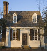 Did you know you can stay in the historic homes and buildings in Colonial Williamsburg?