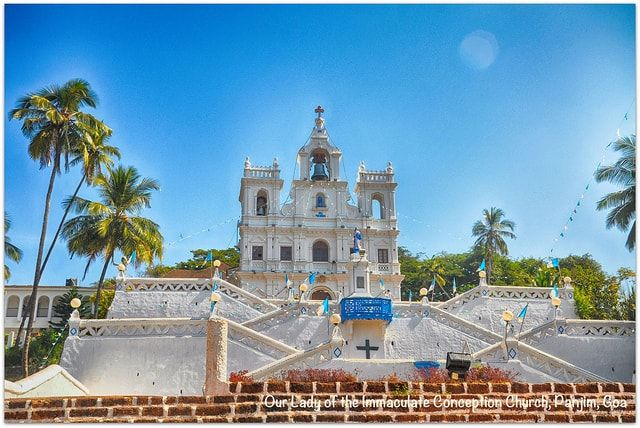 Our Lady of the Immaculate Conception Church is located in the capital city of Goa, in Panaji, this notable Church is exceptionally known among tourists.