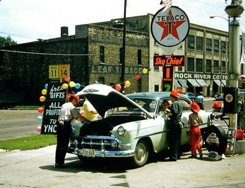 You can trust your car to the man who wears the star....the big, bright Texaco star!