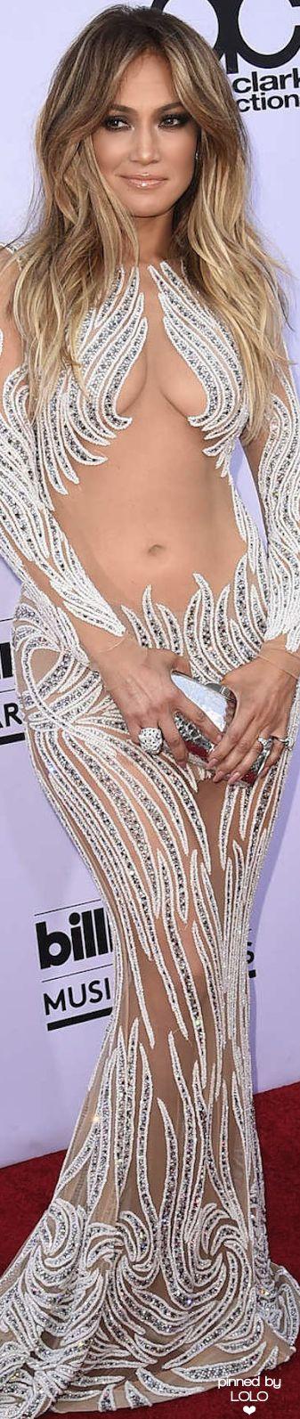 Jennifer Lopez in Charbel Zoe 2015 Billboard Music Awards | LOLO❤