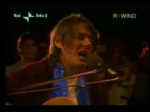 FABRIZIO DE ANDRE' - Amico Fragile (live) HD