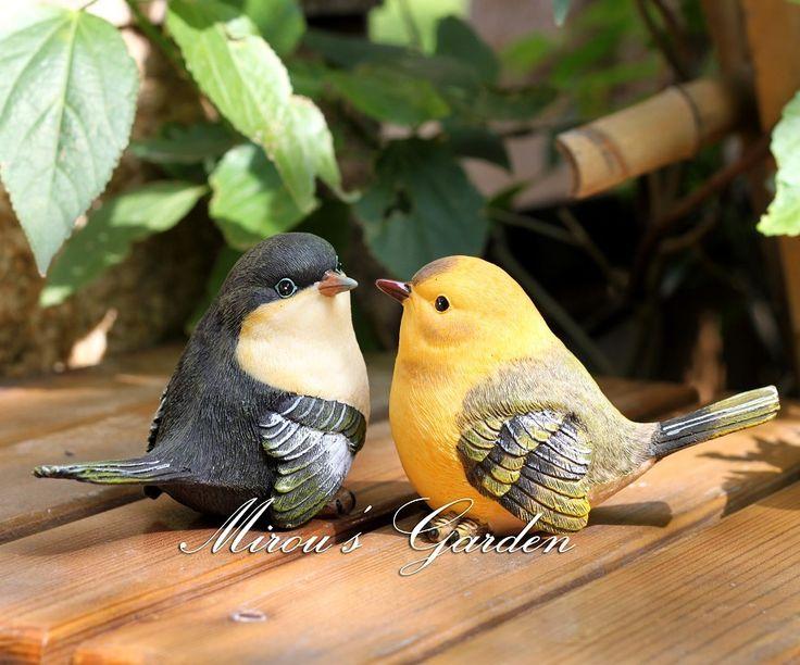 Бесплатная доставка американские предметы интерьера ГОСТИНАЯ декоративную открытый сад двор имитационных терраса животное птица смолы украшения - Taobao