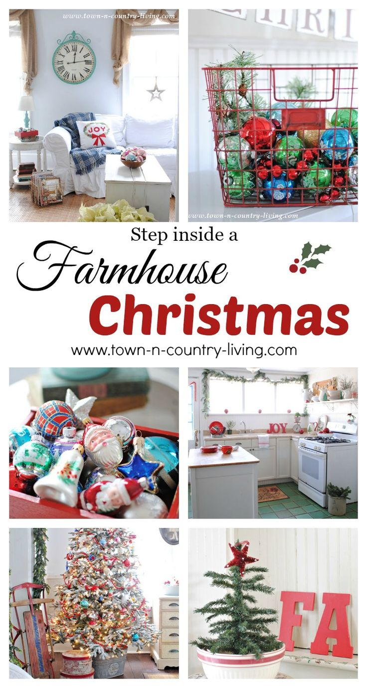 Country christmas decorations 2014 - Diy Christmas Decorations Plenty Of Farmhouse And Vintage Style Holiday Ideas Galore