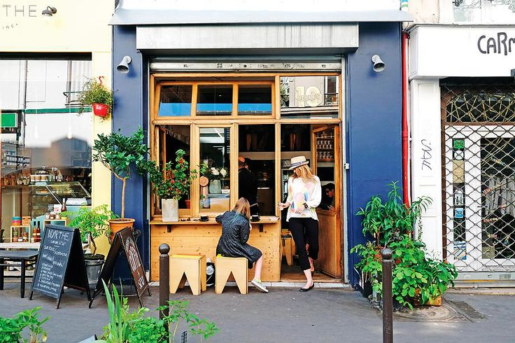 Where to find the best coffee in Paris #escapesnaps Location: Ten Belles