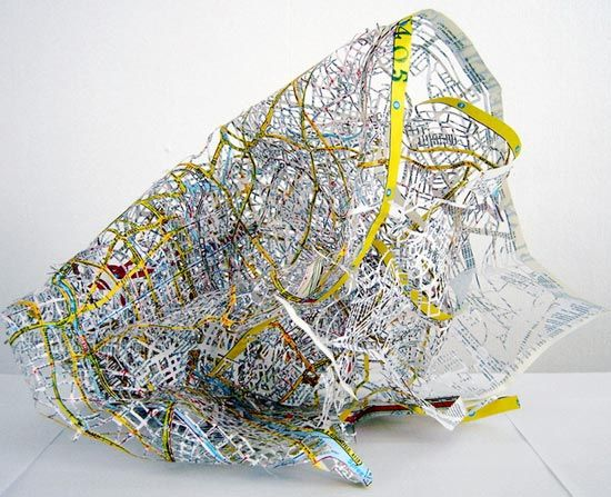 cutting edge maps: Roads System, Edge Maps, Cut Edge, Cannell Tanc, Crazy Maps, Cut Outs Maps, Maps Art, Plans Berlin, Cannel Tanc