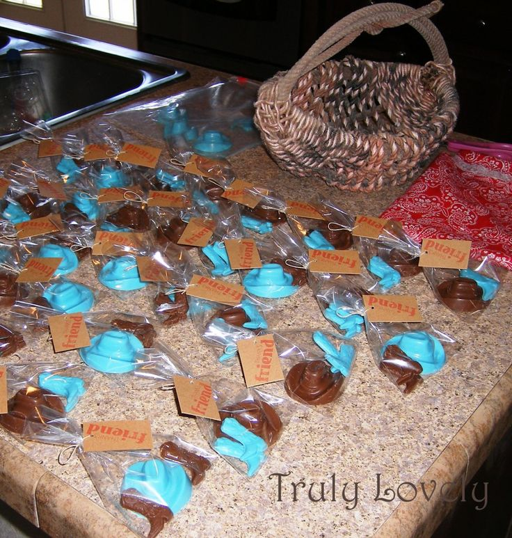 Easy To Make Favors Http://www.trulylovelyblog.net/2012/ · Cowboy Party  FavorsCowgirl PartyCowboy Baby ShowerBoy ...