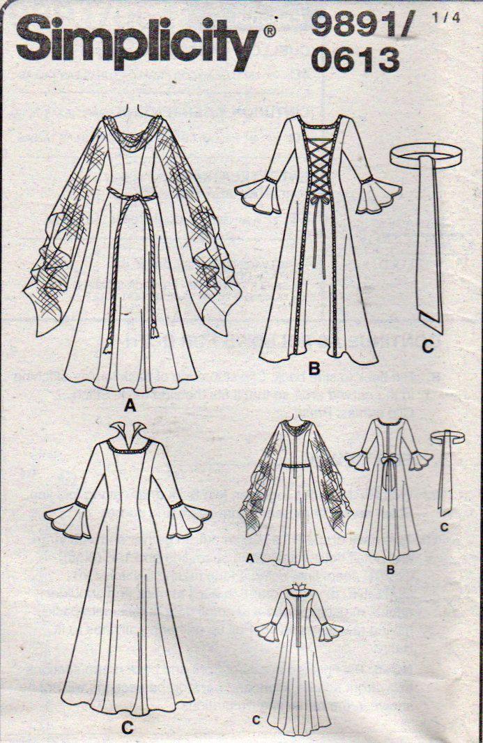 130 besten Costume Patterns for the Whole Family Bilder auf ...