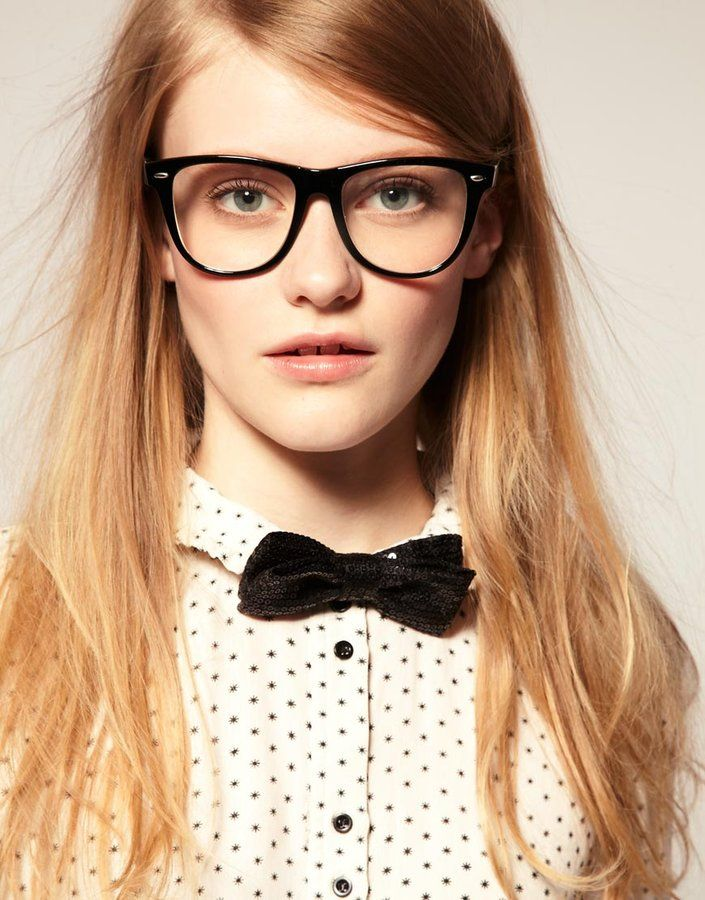 Bowtie: Asos Sequins, Bond Girls, Glasses, Bow Ties, Bowties, Sequins Bows, Bows Ties For Girls, Geek Chic, Tuxedos