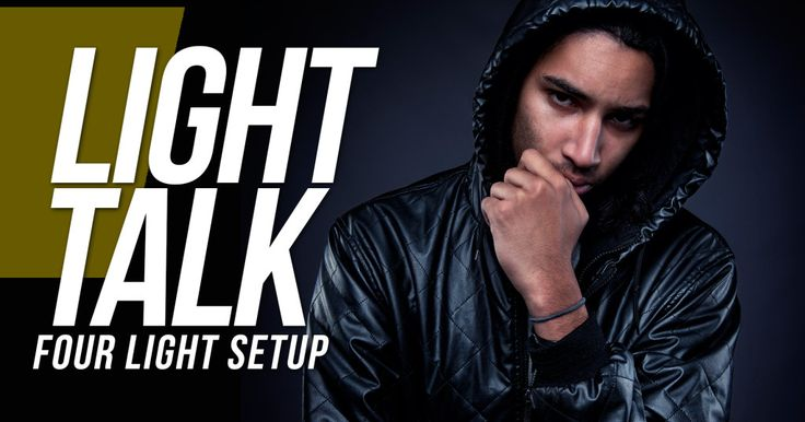 In this week's episode, we look at a simple four light setup with Manni at…