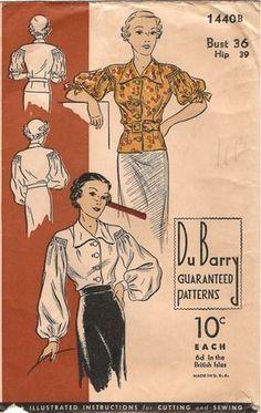 DuBarry 1440B - Vintage Sewing Patterns - Wikia