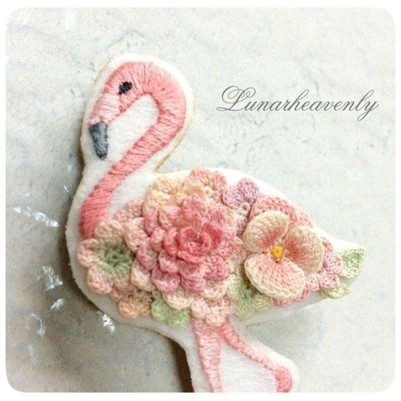 Фламинго в протяжные шага|сотрудников|силы продаж и продаж Creema