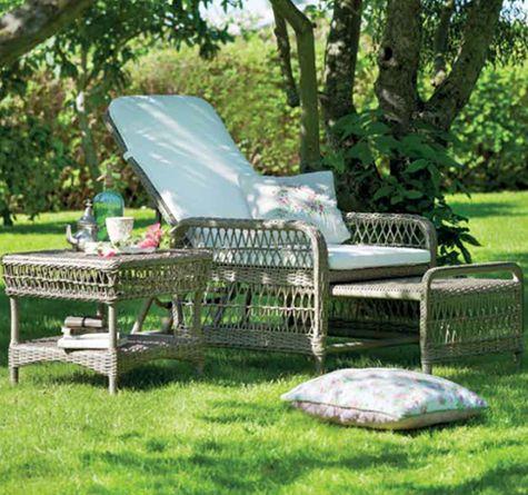 8 besten romantic garden looms bilder auf pinterest webstuhl rattan und rattan gartenm bel. Black Bedroom Furniture Sets. Home Design Ideas