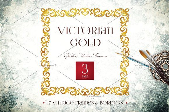 Victorian Gold Vol.3 by O'Gold! on @creativemarket