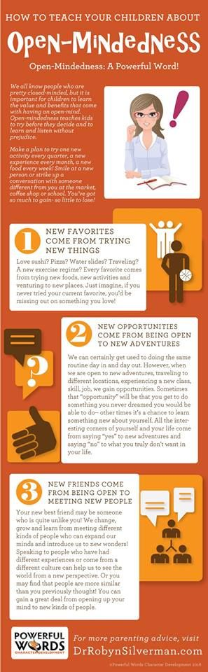 How to Teach Your Children about Open-Mindedness.