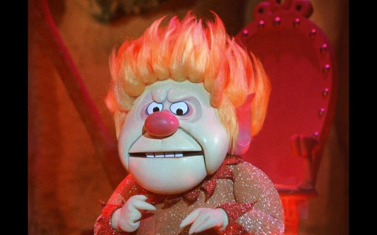 The Heat Miser From A Year Without a Santa Claus | What Does SJP's ...
