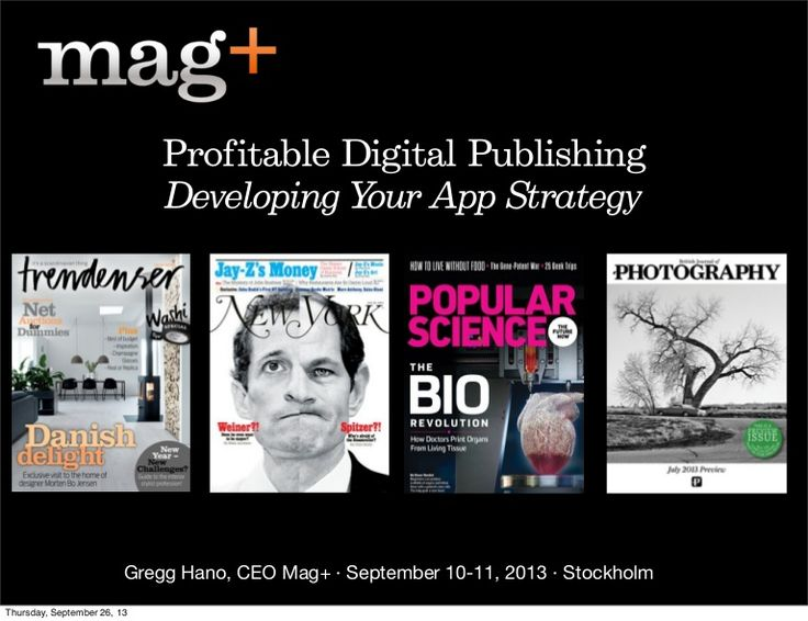 Profitable Digital Publishing