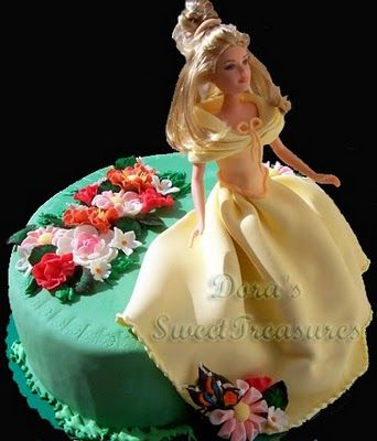 Cake Art By Bec : Barbie Cake Cakes - Barbie Pinterest Cake, Fairy ...