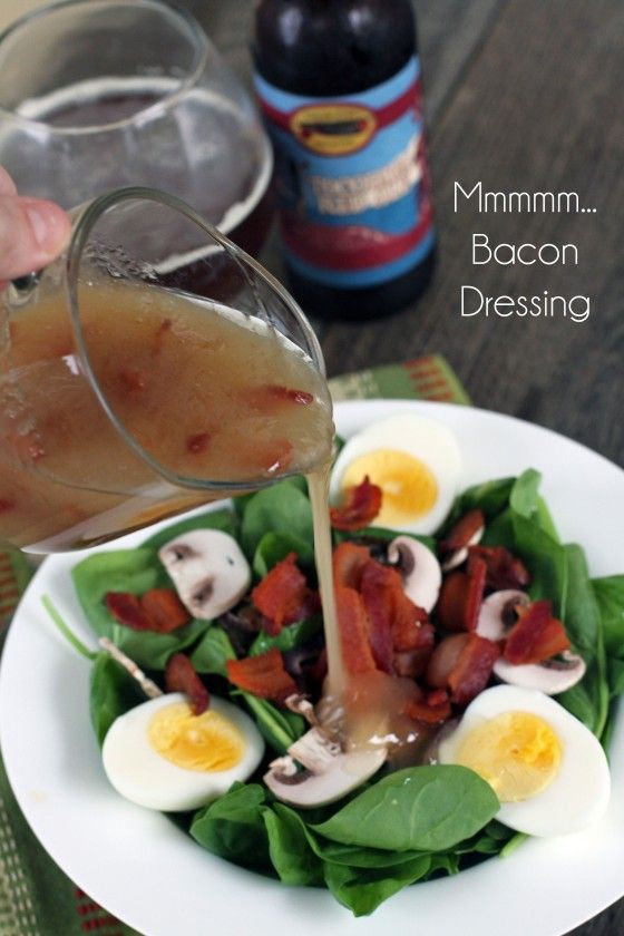 We are on Course 2 of our Southern Classics: … Spinach Salad with Hot Bacon Dressing!