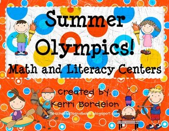 This 47 page Summer Olympics! Literacy and Math Unit includes everything you need to help your students experience the Summer Olympics, which are i...