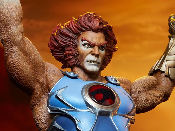 Thundercats Lion-O Statue From Sideshow Toy