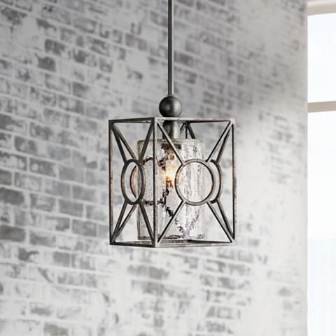 Arbela One Light Mini Pendant by Uttermost Lighting - #2C658 | Lamps Plus