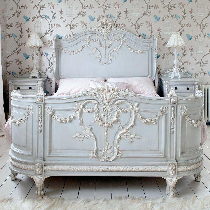Antika Franska Sängar
