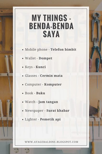 #malay #language #malaysia #bahasa #melayu #things #mythings #benda #saya