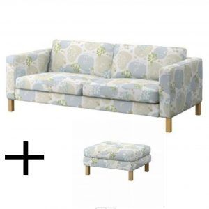 Karlstad Sofa Bed Slipcover Isunda Gray