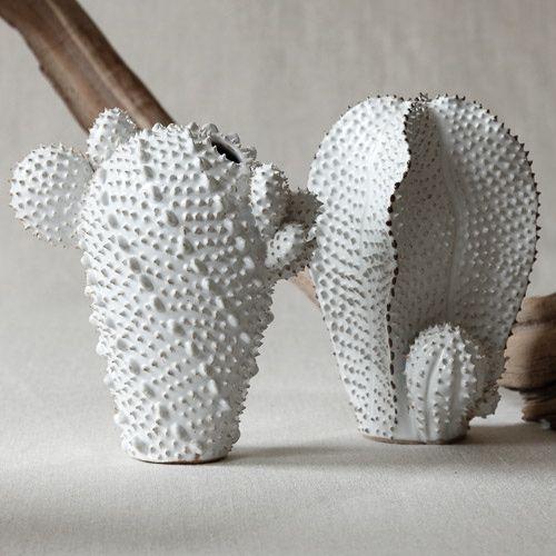 FDO/Ceramic Cactus Vase
