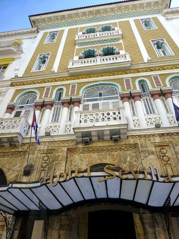 Hotel Sevilla, La Habana Vieja, Cuba