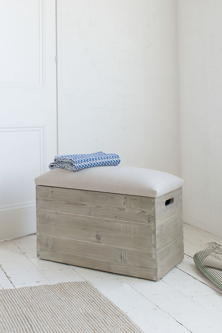 LUGGER STORAGE CRATE STOOL £145 stool, crate, strorage, wood, reclaimed wood, fir, wooden furniture, movable stool, storage crate, storage box, storage ideas, brown, beige, taupe, wood furniture, wooden furniture, wood design