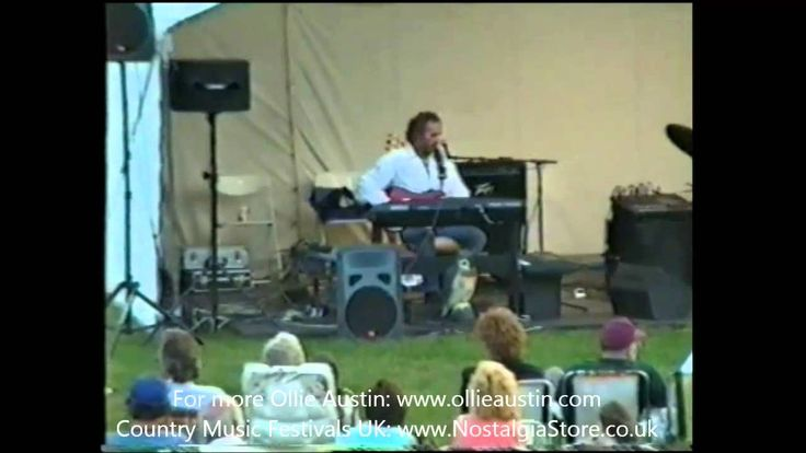Ollie Austin live at Marks Farm, Country Music Festival 1997