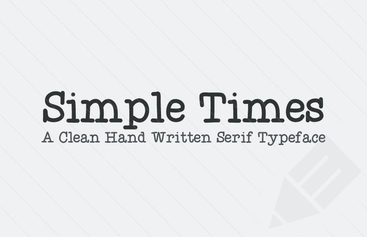 Medialoot - Simple Times - Web Font Kit