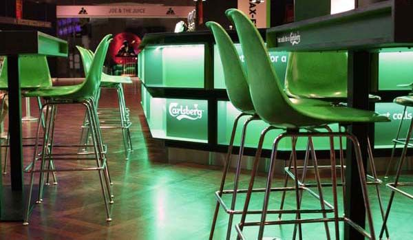Flying To Copenhagen: Modernica's Case Study Fiberglass Chairs and A Frosty Glass of Carlsberg Beer Awaits You At The Airport - Modernica Blog