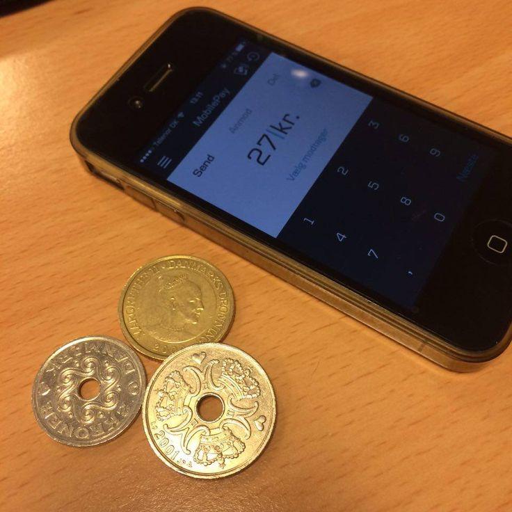 Mobilepay vs. kontanter