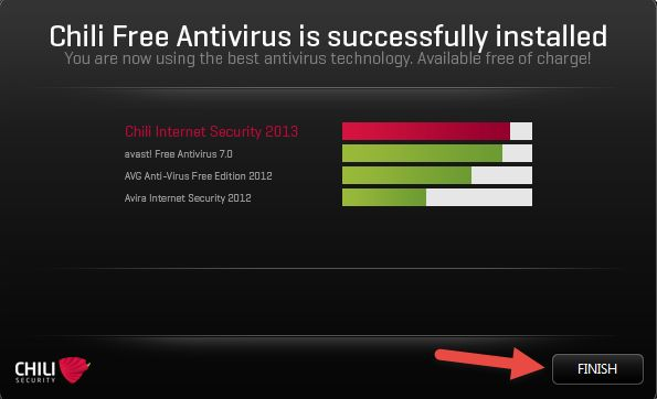 Chili Security Free Antivirus | Sicurezza informatica