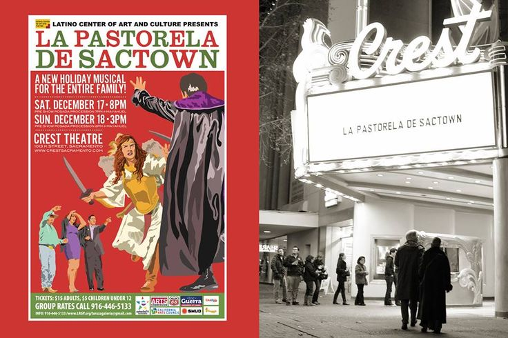 "The Latino Center of Art & Culture presents ""La Pastorela de Sactown"" - a modern musical theatre reenactment of Mexico's traditional Christmas pageant."