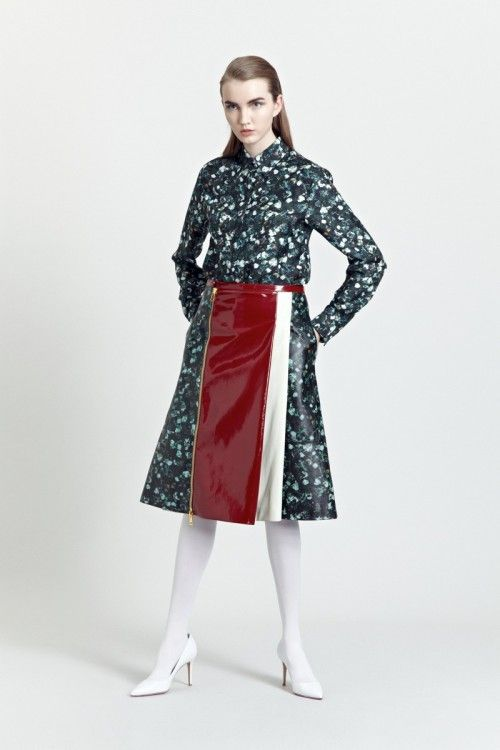 Siloa & Mook AW13: Solla Shirt, Gearda Skirt.  #siloamook #fashionflashfinland #fashion #fashiondesigner #designer #aw13 #collection #Finland #Helsinki