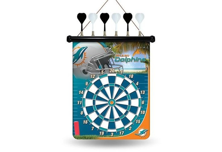 DOLPHINS MAGNETIC DART BOARD