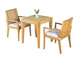 Elegance In-Outdoor Teak Dining Settings, 3pc