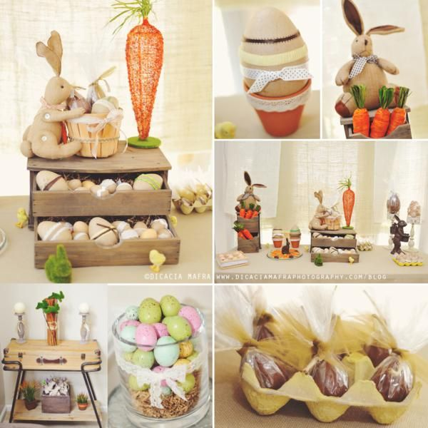 Vintage Spring Easter Egg Hunt Party at Kara's Party Ideas