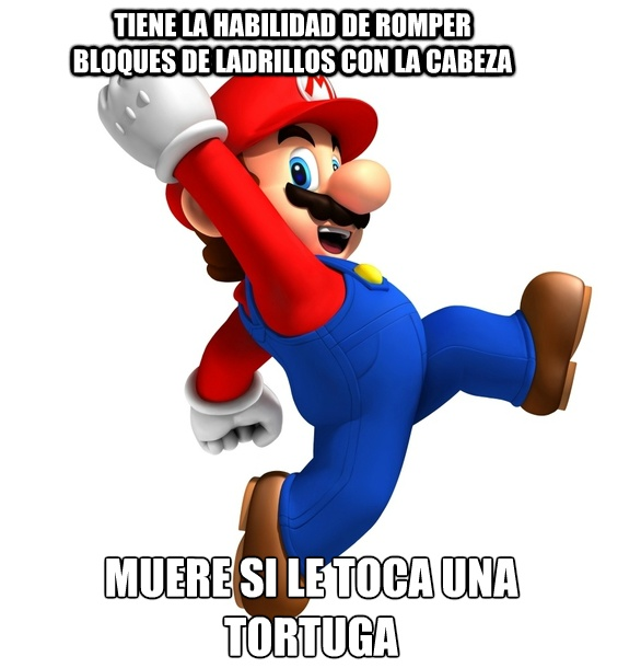 Mario: Funny Stuff, Gamer Freak